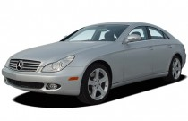2006 Mercedes-Benz CLS Class 4-door Sedan 5.0L Angular Front Exterior View