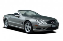 2006 Mercedes-Benz SL Class 2-door Roadster 5.0L Angular Front Exterior View