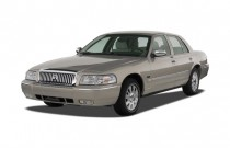 2007 Mercury Grand Marquis 4-door Sedan LS Angular Front Exterior View