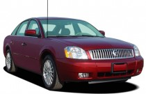 2006 Mercury Montego 4-door Sedan 2WD Luxury Angular Front Exterior View