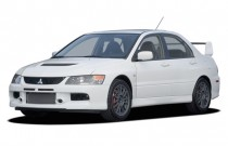 2006 Mitsubishi Lancer 4-door Sedan Evolution MR Edition Manual Angular Front Exterior View