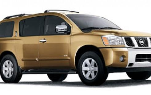 2006 Nissan Armada Vs Gmc Yukon Toyota Highlander Honda