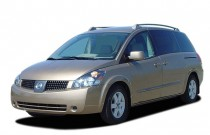 2006 Nissan Quest 4-door Van SL Angular Front Exterior View