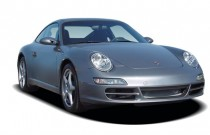 2006 Porsche 911 Carrera 2-door Coupe Angular Front Exterior View