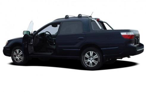 2006 Subaru Baja 4-door Sport Manual Open Doors