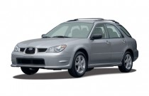 2006 Subaru Impreza 2.5 WRX Limited Manual Black Int Angular Front Exterior View