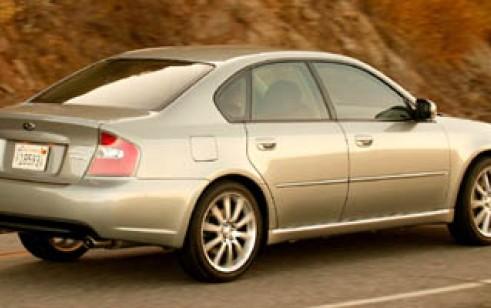 2006 Subaru Legacy Sedan Vs Bmw 3 Series Audi A4 Lexus Es Subaru