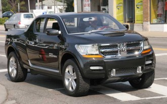 Report: Dodge To Get Honda Ridgeline 'Lifestyle Truck' Rival