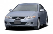 2007 Acura TSX 4-door Sedan AT Angular Front Exterior View