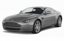2007 Aston Martin Vantage 2-door Coupe Manual Angular Front Exterior View