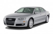 2007 Audi A8 4-door Sedan Angular Front Exterior View