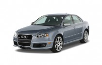 2007 Audi RS 4 4-door Sedan Angular Front Exterior View