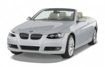 2007 BMW 3-Series 2-door Convertible 328i Angular Front Exterior View