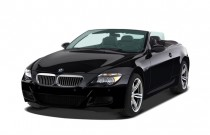 2007 BMW 6-Series 2-door Convertible M6 Angular Front Exterior View