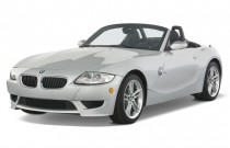 2007 BMW Z4-Series 2-door Roadster M Angular Front Exterior View