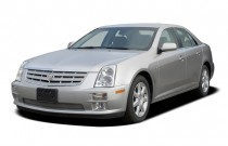 2007 Cadillac STS 4-door Sedan V8 Angular Front Exterior View
