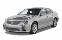 2007 Cadillac STS-V 4-door Sedan Angular Front Exterior View