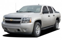 "2007 Chevrolet Avalanche 2WD Crew Cab 130"" LS Angular Front Exterior View"