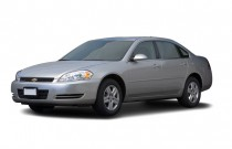 2007 Chevrolet Impala 4-door Sedan LS Angular Front Exterior View