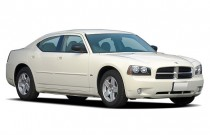2007 Dodge Charger 4-door Sedan 5-Spd Auto RWD Angular Front Exterior View
