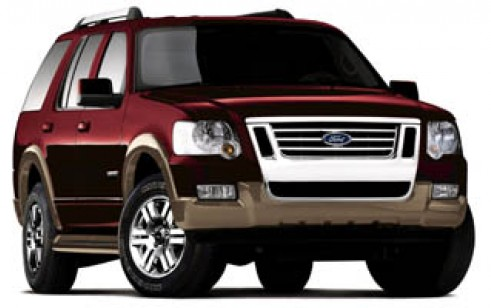 2007 ford explorer vs chevrolet trailblazer gmc envoy. Black Bedroom Furniture Sets. Home Design Ideas