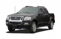 2007 Ford Explorer Sport Trac 2WD 4-door V6 Limited Angular Front Exterior View