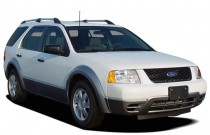 2007 Ford Freestyle 4-door Wagon Limited AWD Angular Front Exterior View