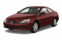 2007 Honda Accord Coupe 2-door I4 AT EXL Angular Front Exterior View