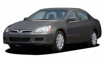 2007 Honda Accord Sedan 4-door V6 AT EXL w/Navi Angular Front Exterior View