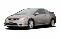 2007 Honda Civic Si 2-door Coupe Manual w/ST Angular Front Exterior View