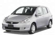 2007 Honda Fit 5dr HB AT Angular Front Exterior View