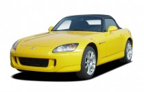 2007 Honda S2000 2-door Convertible Angular Front Exterior View