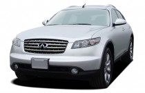 2007 Infiniti FX45 4-door AWD Angular Front Exterior View