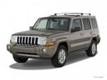 2007 Jeep Commander 2WD 4-door Limited Angular Front Exterior View