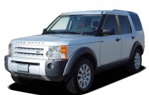 2007 Land Rover LR3 4WD 4-door V8 SE Angular Front Exterior View