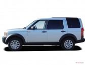 2007 Land Rover LR3 4WD 4-door V8 SE Side Exterior View