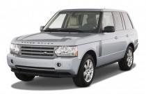 2007 Land Rover Range Rover 4WD 4-door HSE Angular Front Exterior View