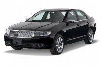 2007 Lincoln MKZ 4-door Sedan AWD Angular Front Exterior View