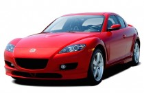 2007 Mazda RX-8 4-door Coupe Manual Grand Touring Angular Front Exterior View