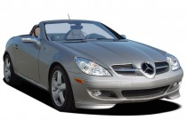 2007 Mercedes-Benz SLK Class 2-door Roadster 3.0L Angular Front Exterior View
