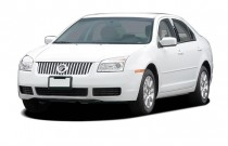 2007 Mercury Milan 4-door Sedan V6 FWD Angular Front Exterior View
