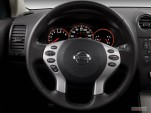 2007 Nissan Altima 4-door Sedan I4 CVT 2.5S Steering Wheel