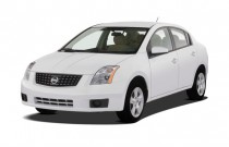 2007 Nissan Sentra 4-door Sedan CVT 2.0S Angular Front Exterior View