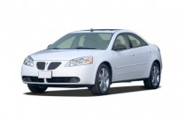 2007 Pontiac G6 4-door Sedan GTP Angular Front Exterior View