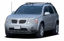 2007 Pontiac Torrent FWD 4-door Angular Front Exterior View