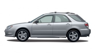 2007 Subaru Impreza 4-door H4 MT i Side Exterior View