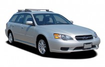 2007 Subaru Legacy Wagon 4-door H4 MT Angular Front Exterior View