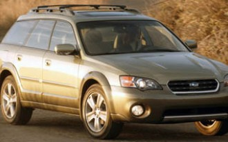 2007 Subaru Outback Wagon With Automatic and OE Navigation System