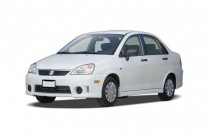 2007 Suzuki Aerio 4-door Sedan Man FWD Angular Front Exterior View