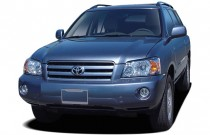 2007 Toyota Highlander 4WD 4-door V6 Limited w/3rd Row (Natl) Angular Front Exterior View